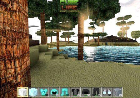 Cube Life: Island Survival