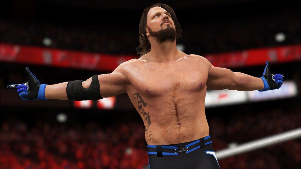 AJ Styles WWE 2K17