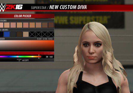 WWE 2K16 Creation Suite