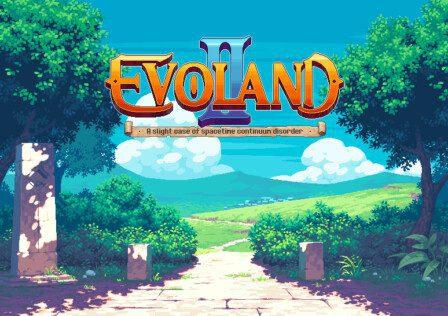 EVOLAND-TitleScreen