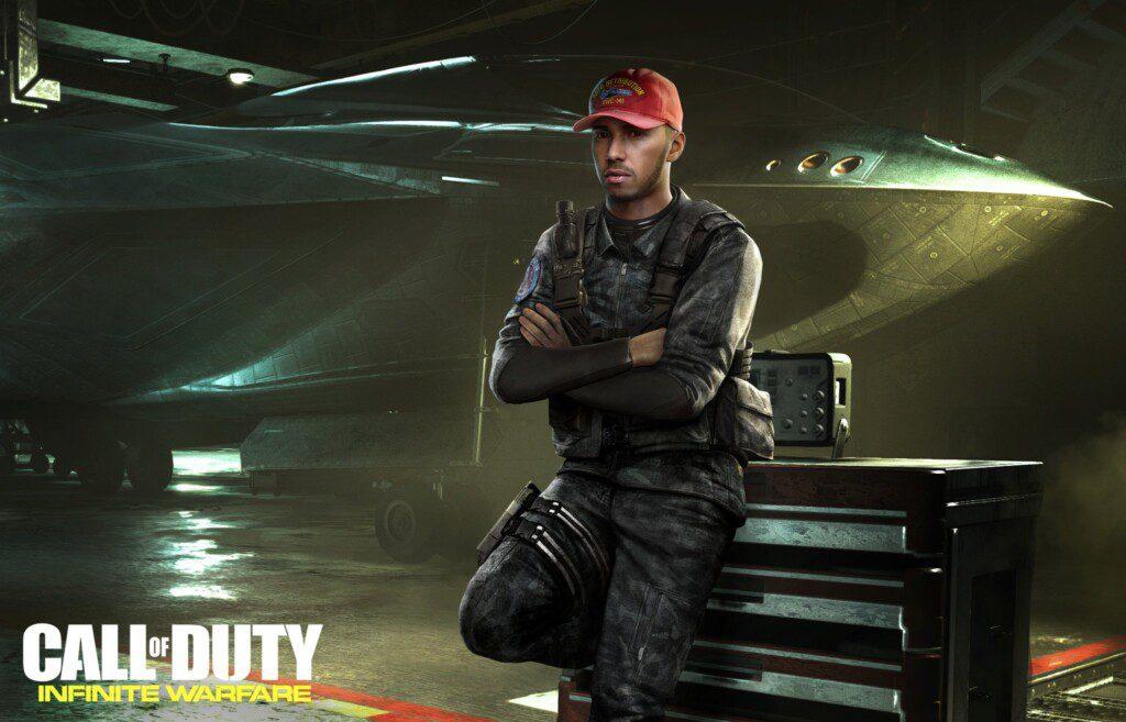 Lewis Hamilton Call of Duty