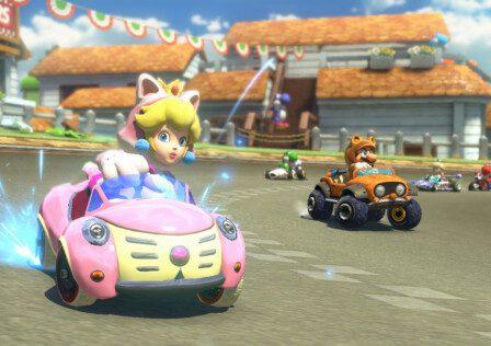 Mario Kart 8 Cat Peach