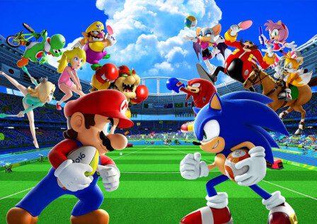 Mario and Sonic Tokyo 2020 Olympics